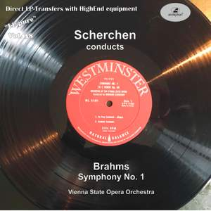 LP Pure, Vol 38: Scherchen Conducts Brahms Symphony No. 1 in C Minor (Historical Recording)