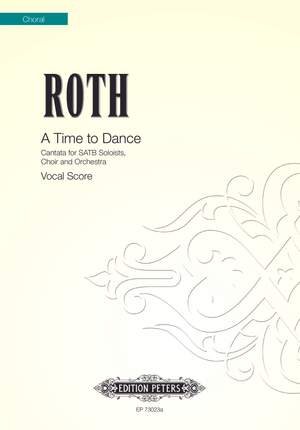 Roth, Alec: A Time to Dance (vocal score)