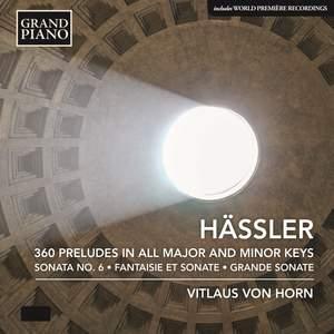 JW Hässler: 360 Preludes in all Major and Minor Keys