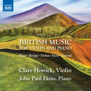 British Music for Violin and Piano Product Image