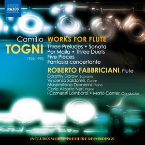 Camillo Togni: Works for Flute