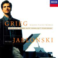 Grieg: Piano Sonata, Holberg Suite & Lyric Pieces