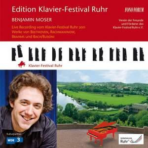 Ruhr Piano Festival, Vol. 28: Benjamin Moser
