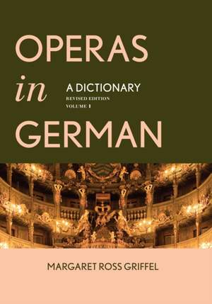 Operas in German: A Dictionary