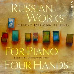 Russian Works for Piano Four Hands Product Image