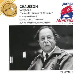 Chausson: Symphony, Poeme & Chabrier: Fete-polonaise
