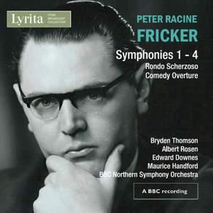 Fricker: Symphonies Nos. 1-4