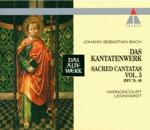 JS Bach: Sacred Cantatas Vol.5 - BWV 79-99
