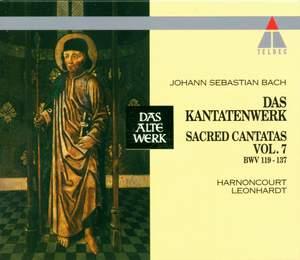 JS Bach: Sacred Cantatas Vol.7 - BWV 119-137