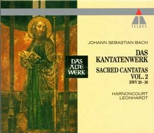 JS Bach: Sacred Cantatas Vol.2 - BWV 20-36