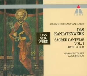 JS Bach: Sacred Cantatas Vol.1 - BWV1-14 & 16-19