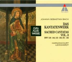 JS Bach: Sacred Cantatas Vol.8 - BWV 138-140, 143-159 & 161-162