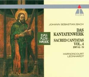 JS Bach: Sacred Cantatas Vol.4 - BWV 61-78