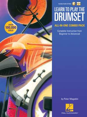 Peter Magadini: Learn to Play the Drumset – All-in-One Combo Pack Product Image