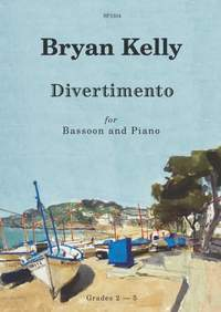 Bryan Kelly: Divertimento for Bassoon and Piano