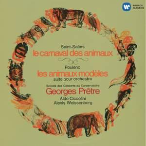 Saint-Saëns: Le Carnaval des animaux & Poulenc: Les Animaux modèles