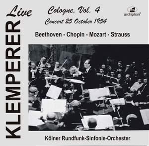 Klemperer Live in Cologne, Vol. 4 (Historical Recordings) [Live]