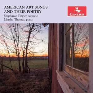 American Art Songs & Their Poetry Product Image