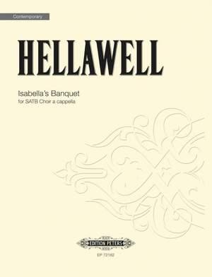 Hellawell, Piers: Isabella's Banquet (SATB a cappella)