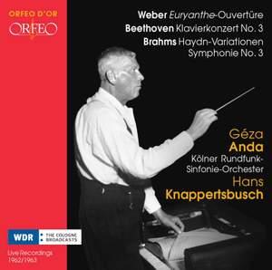 Beethoven: Piano Concerto No. 3 & Brahms: Haydn-Variations, Symphony No. 3