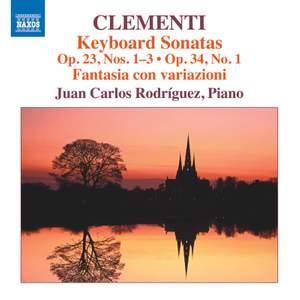 Clementi: Keyboard Sonatas Op. 23, Nos. 1-3 & Op. 24 No. 1 Product Image
