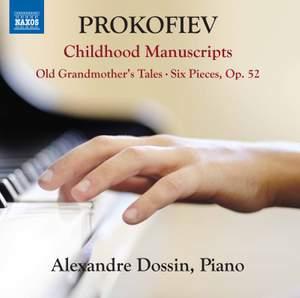Prokofiev: Childhood Manuscripts