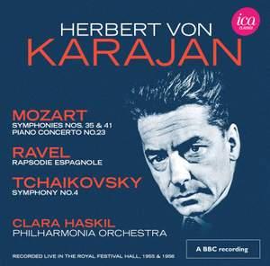 Herbert von Karajan conducts Mozart, Ravel, Tchaikovsky