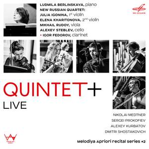 Quintet+ Live: Melodiya apriori recital series 2 Product Image