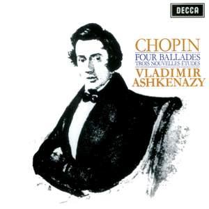 Chopin: Four Ballades; Trois Nouvelles Etudes Product Image