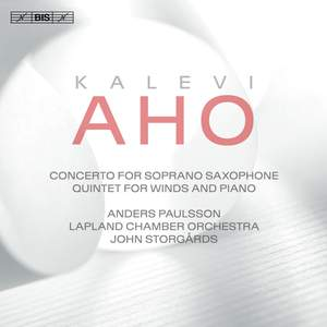 Aho: Saxophone Concerto Product Image