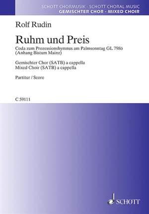 Rudin, R: Ruhm und Preis
