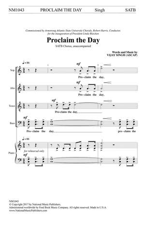 Vijay Singh: Proclaim the Day