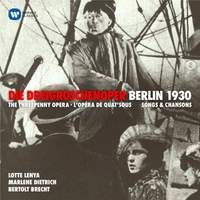 Weill: Threepenny Opera (Dreigroschenoper)