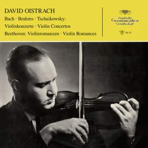 David Oistrakh plays Bach, Brahms & Tchaikovsky Violin Concertos Product Image