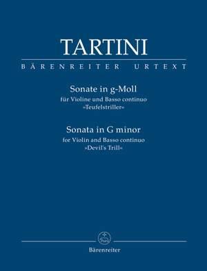 """Tartini, Giuseppe: Sonata for Violin and Basso continuo in G minor """"Devil's Trill"""""""