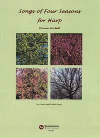 Donna Verdell: Songs Of Four Seasons for Harp