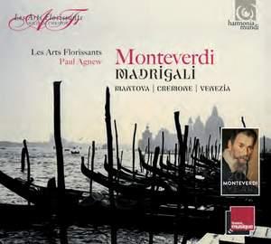 Monteverdi Madrigals Vols. 1-3