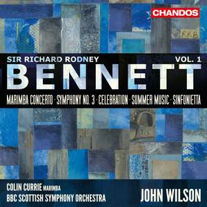 Sir Richard Rodney Bennett: Orchestral Works, Vol. 1 Product Image