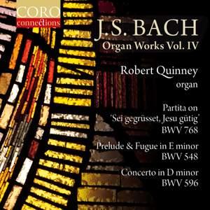 JS Bach: Organ Works Volume IV Product Image