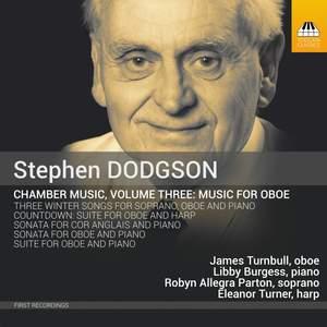 Dodgson: Music for Oboe, Vol. 3