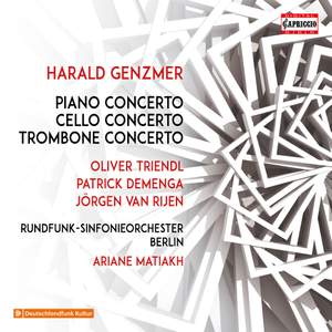 Harald Genzmer: Concertos