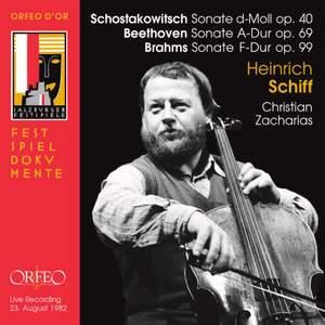 Heinrich Schiff plays Shostakovich, Beethoven & Brahms