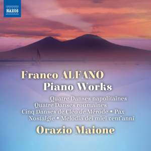 Alfano: Piano Works