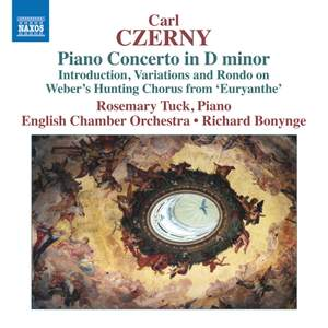 Carl Czerny: Piano Concerto in D minor Product Image