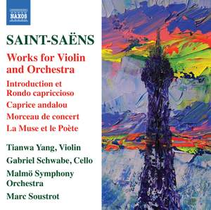 Saint-Saëns: Works for Violin and Orchestra Product Image