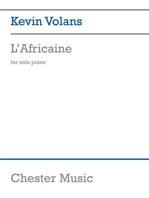 Kevin Volans: L'Africaine