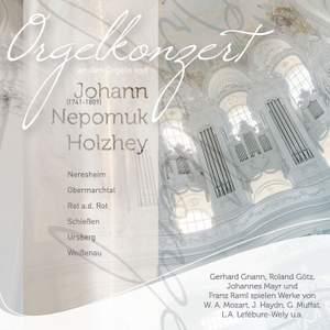 Orgelkonzert an 6 Holzhey-Orgeln mit 4 Organisten Product Image