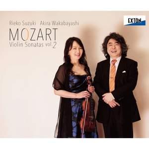 Mozart: Violin sonatas Vol. 2
