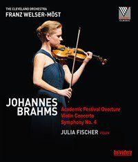 Brahms: Academic Festival Overture, Violin Concerto & Symphony No. 4