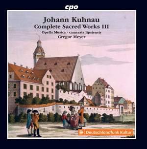 Kuhnau: Complete Sacred Works, Vol. 3 Product Image
